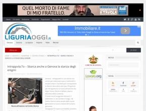 Liguria Oggi - Sbarca anche a Genova la stanza degli enigmi