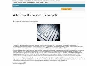 Msn.com - A Torino e Milano sono... in trappola