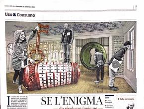 Corriere della Sera - Se l'enigma fa squadra