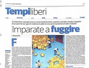 Corriere della Sera - Imparate a fuggire