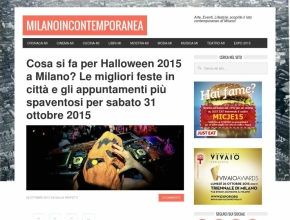 Milano in Contemporanea - Cosa si fa per Halloween 2015 a Milano? Intrappola.to!