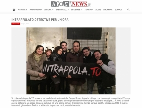 www.agoranews.it - Intrappola.to: detective per un'ora