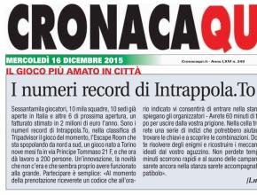 CronacaQui - I numeri record di Intrappola.to
