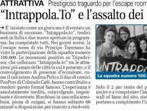 CronacaQui - Intrappola.to e l'assalto dei 100.000