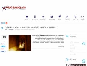 Radio Bussola - Intrappola.to, il gioco del momento, sbarca a Salerno