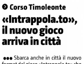 Il Giornale di Sicilia Siracusa - Intrappola.to, il nuovo gioco arriva in città