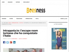 Beesness - Intrappola.to: l'escape room torinese che ha conquistato l'Italia