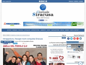 Giornale Siracusa - Intrappola.to: l'escape room conquista Siracusa