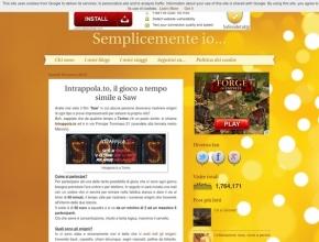ElisaCarriero/Semplicemente io - Intrappola.to: il gioco a tempo simile a Saw