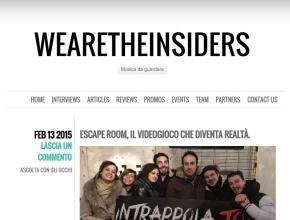 Wearetheinsiders.com - Escape room, il videogioco che diventa realtà