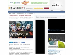 "Ilquotidiano.it - ""Intrappola.To"", conquista le Marche"