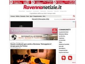 Ravennanotizie.it - Questo weekend apre anche a Ravenna Intrappola.to, escape room di Torino