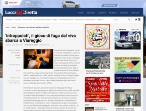 Lucca in diretta - 'Intrappolati', il gioco di fuga dal vivo sbarca a Viareggio