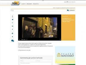 """TGS Palermo - Intrappola.to:  5 palermitani aprono la """"escape room"""""""