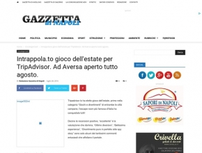 Gazzetta di Napoli - Intrappola.to gioco dell'estate per TripAdvisor