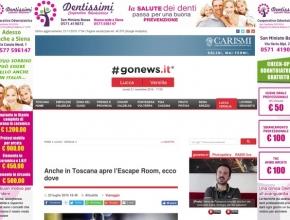Go News - Anche in Toscana apre l'escape room, ecco dove