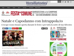 Versilia Today - Natale e Capodanno con Intrappola.to