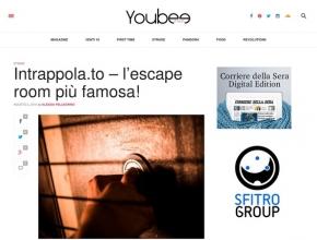 YouBee Italia - Intrappola.To, l'escape room più famosa!