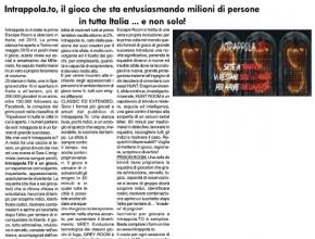 Il Monviso - Intrappola.to, il gioco che sta entusiasmando milioni di persone in tutta Italia ... e non solo!