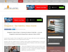 Udite Udite.it - Intrappola.to: San Valentino, intesa vincente