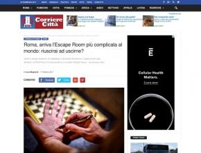 Il corriere della Città - Roma: arriva l'escape room più complicata al mondo: riuscirai ad uscirne?