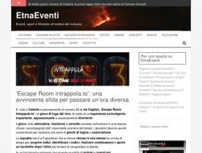 EtnaEventi - Intrappola.to: un'avvincente sfida per passare un'ora diversa
