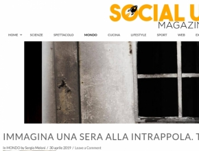 IMMAGINA UNA SERA ALLA INTRAPPOLA,TO  ESCAPE ROOM
