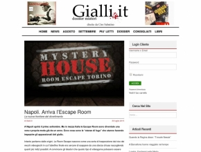 Gialli.it - Napoli. Arriva l'Escape Room